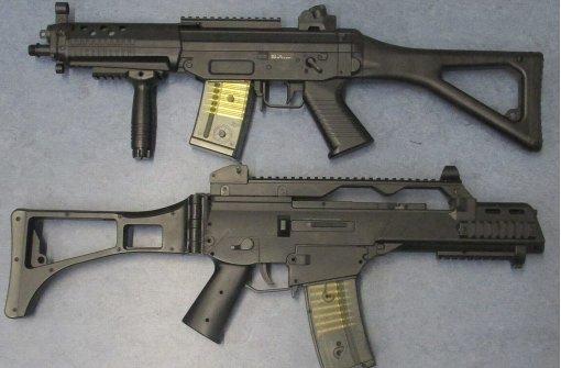 Falsche Sturmgewehre lösen  Polizeieinsatz aus