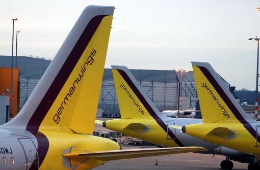 Eine Maschine der Fluggesellschaft Germanwings ist am Mittwoch wegen einer Fehlermeldung nach Wien ausgewichen. Der Airbus war auf dem Weg von Stuttgart nach Budapest. Foto: dapd
