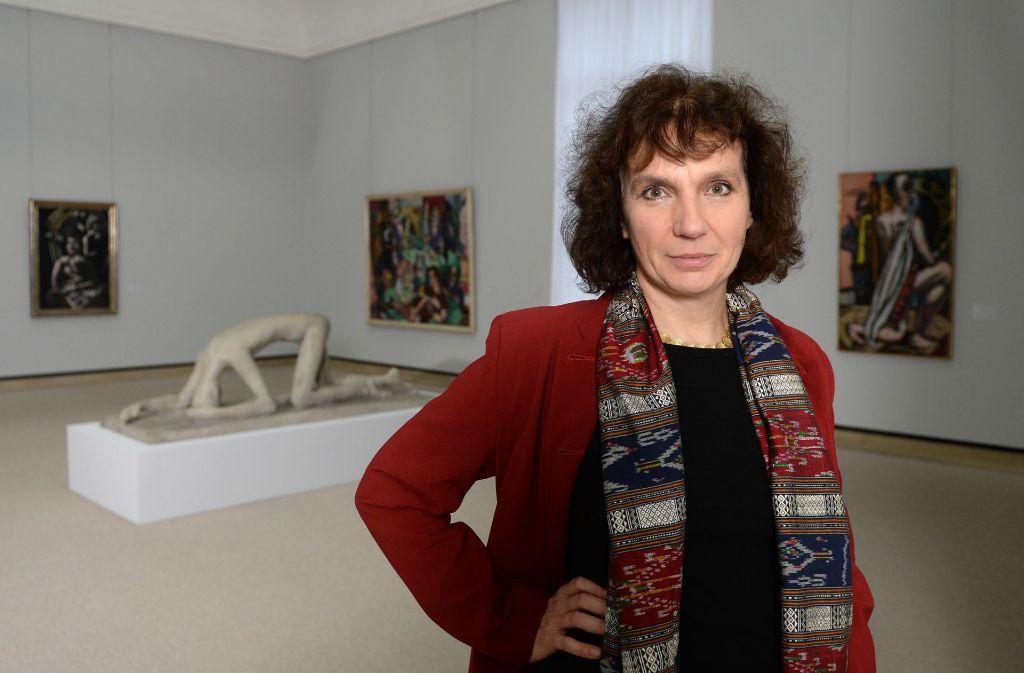Für Stuttgarts Staatsgalerie-Chefin Christiane Lange ist Kunst so wichtig wie Atmen. Foto: dpa
