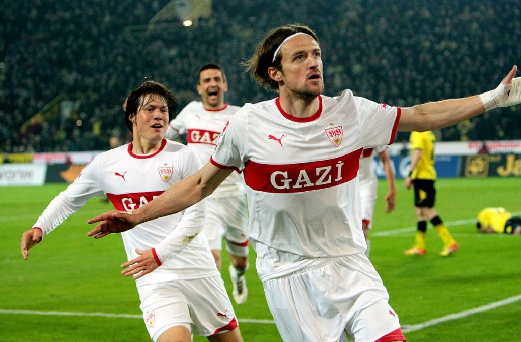 Christian Gentner markierte das 4:4 für den VfB Stuttgart. Foto: Pressefoto Baumann/Julia Rahn