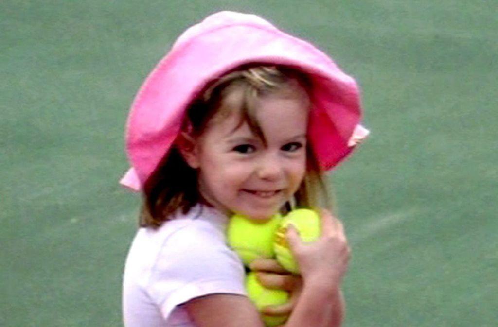 Vor über zehn Jahren verschwand Madeleine McCann aus einer Ferienanlage in der Algarve. Foto: REAL MADRID TV/dpa