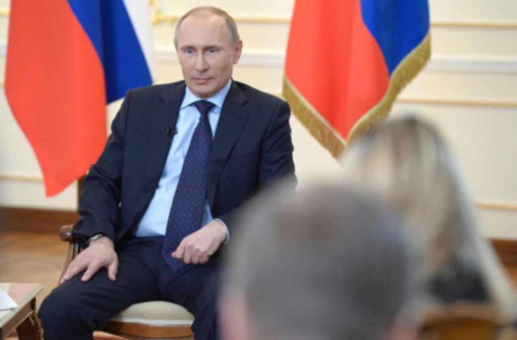 Russlands Präsident Wladimir Putin Foto: dpa