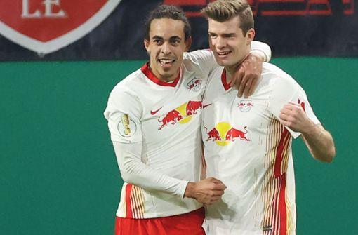Leipzig im Halbfinale - Poulsen und Hwang treffen gegen Wolfsburg