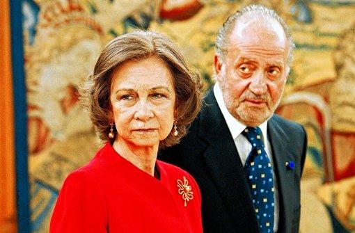 König Juan Carlos und Königin Sofía feiern am Dienstag ihre Goldhochzeit. Foto: dpa