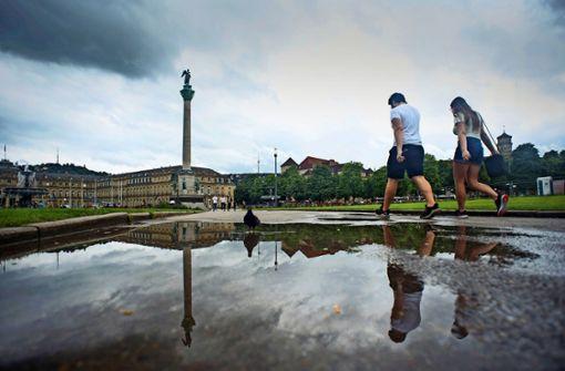 Stuttgarts Norden blieb zu trocken