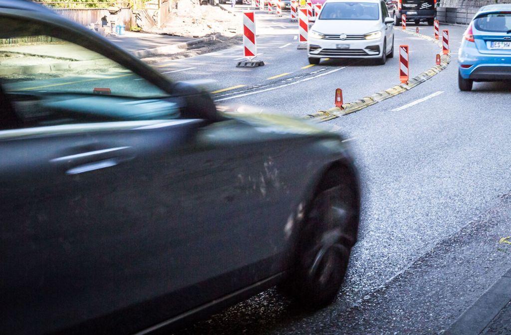 Auf der Neuen Weinsteige hat es am Samstagmorgen einen Unfall gegeben (Archivbild). Foto: Lichtgut/Julian Rettig/Lichtgut/Julian Rettig