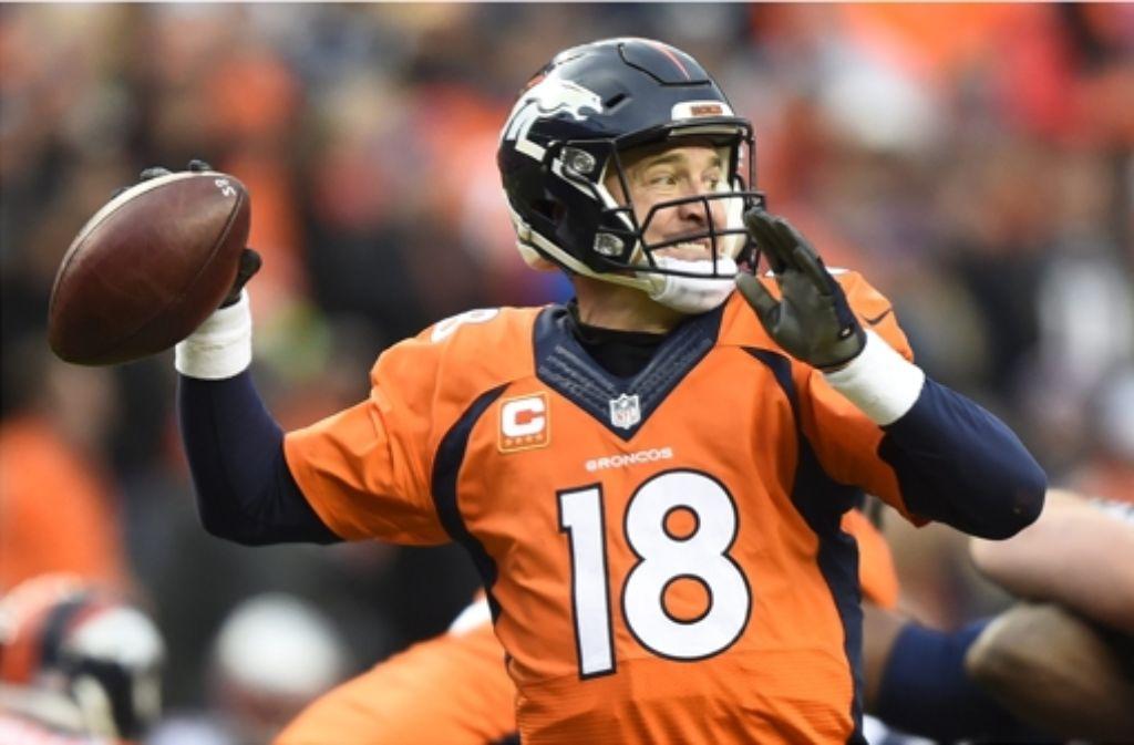 Peyton Manning spielt hauptberuflich Football – und nebenberuflich Golf mit Donald Trump. Foto: dpa