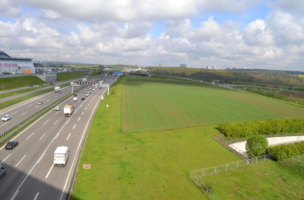 Wäre hier Platz für einen Flughafen- und Messebahnhof? Foto: StZ