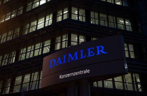 Daimler droht hohe Strafzahlung