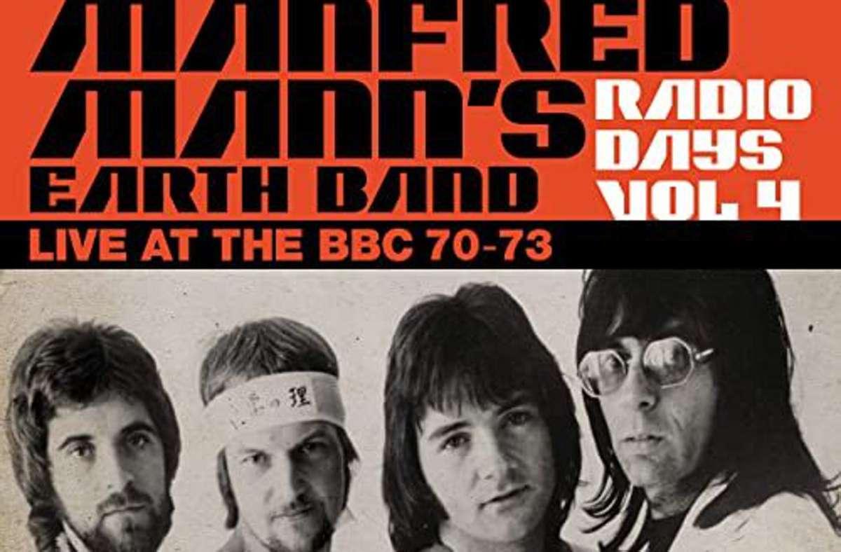 """""""Manfred Mann's Earth Band – Live at the BBC 70-73"""" (Creature Music/Soulfood): die ersten Rundfunkaufnahmen  der noch jungen Band  Foto: Label"""