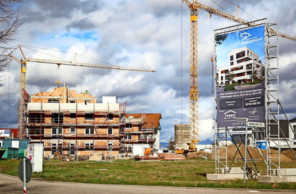 Das Baugebiet Schlossfeld in Bönnigheim ist vorbildlich. Foto: factum/Granville