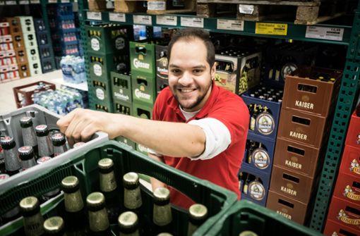 Wie André trotz Handicap einen Job auf dem ersten Arbeitsmarkt gefunden hat