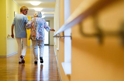 Nothilfe für pflegebedürftigen Berufsstand