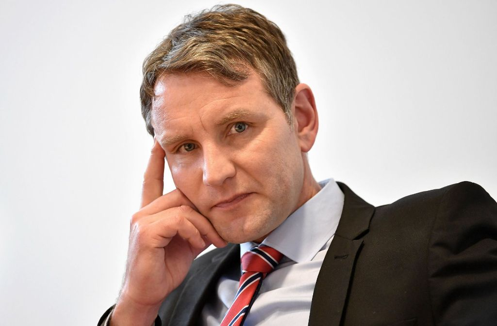 Soll der Thüringer AfD-Landesvorsitzenden Björn Höcke aus der AfD ausgeschlossen werden? (Archivfoto) Foto: dpa