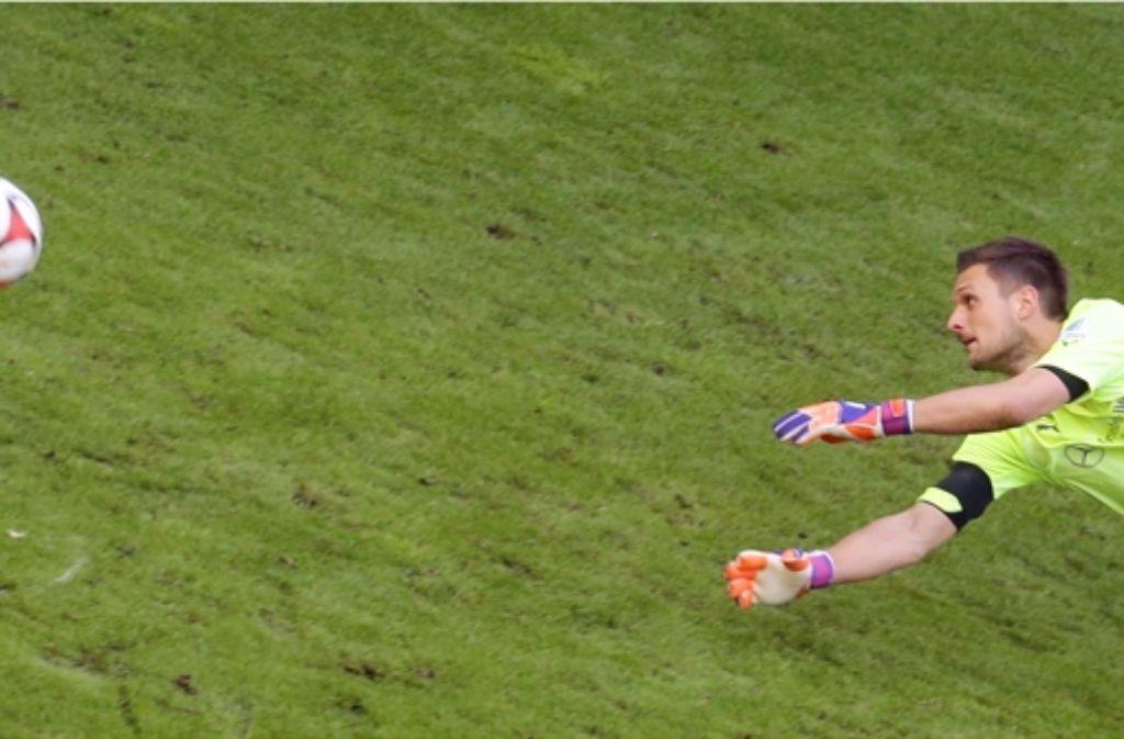 Przemyslaw Tyton ist der Wunschkandidat für das VfB-Tor. Foto: dpa