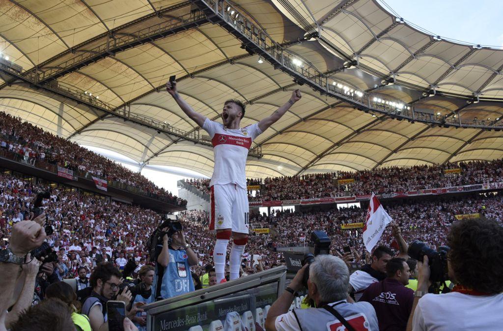 Alexandru Maxim drückt dem VfB die Daumen. (Archivbild) Foto: dpa