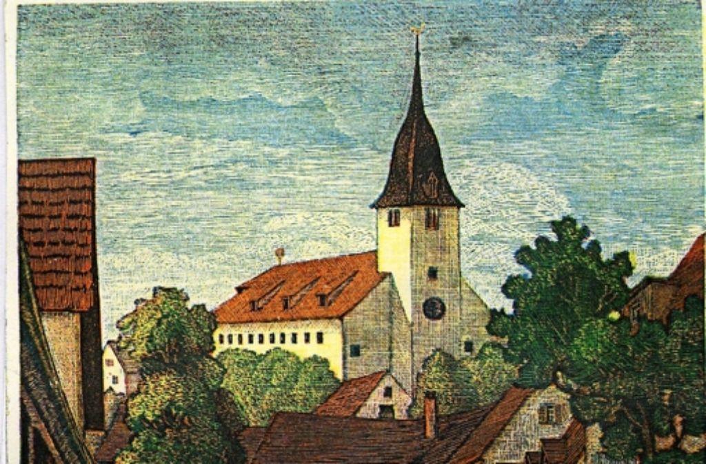 Die Postkarte zeigt die Thomaskirche im Jahr 1938. Foto: z