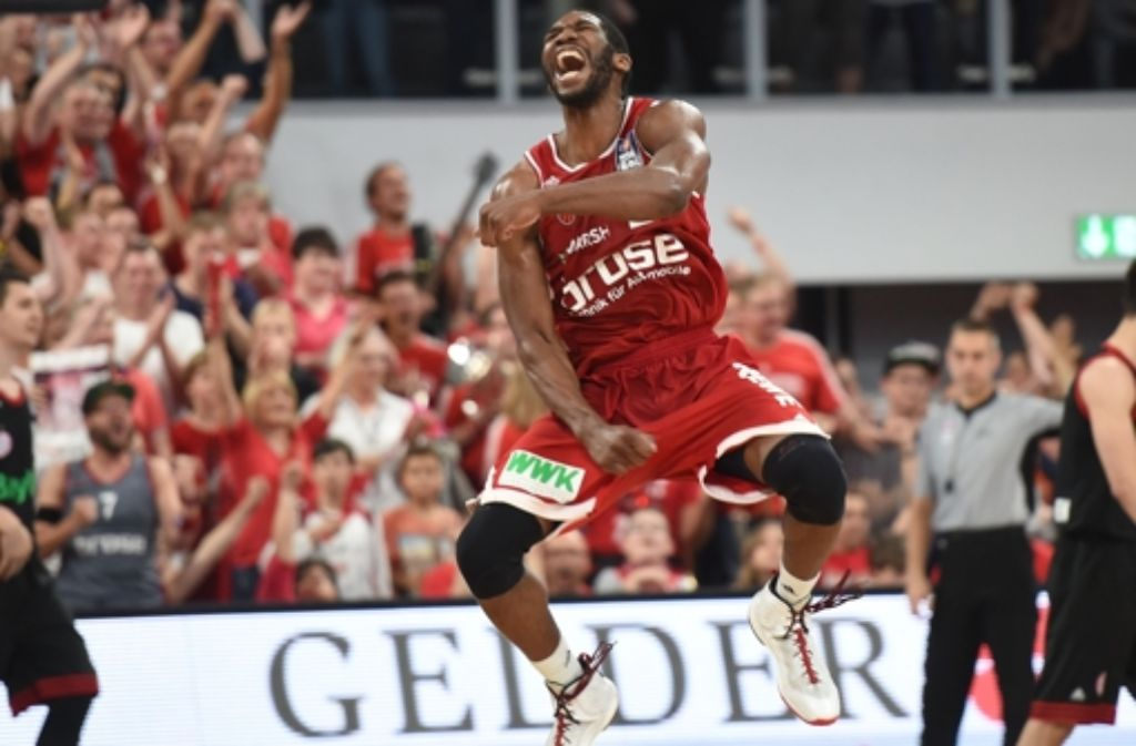 Die Brose Baskets Bamberg sind neuer Basketball-Meister. Foto: Bongarts/Getty Images