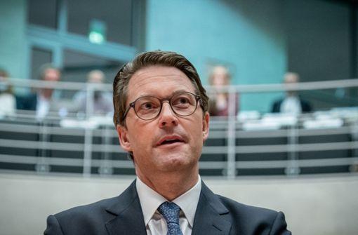 Andreas Scheuer weist zentrale Vorwürfe zurück