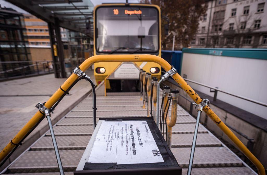 Seit einigen Tagen ist am Fahrradwagen der Zacke eine sogenannte Partikelmessbox für Luftverunreinigungsmessungen befestigt. Foto: Lichtgut/Max Kovalenko