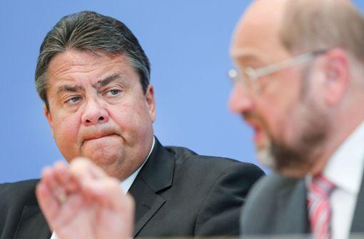 Schulz ist schwer beschädigt
