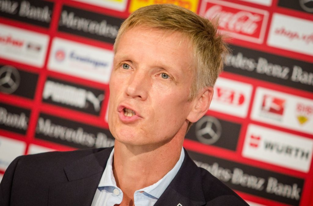VfB-Sportvorstand Jan  Schindelmeiser hat de Machtkampf gegen Jos Luhukay  gewonnen Foto: dpa