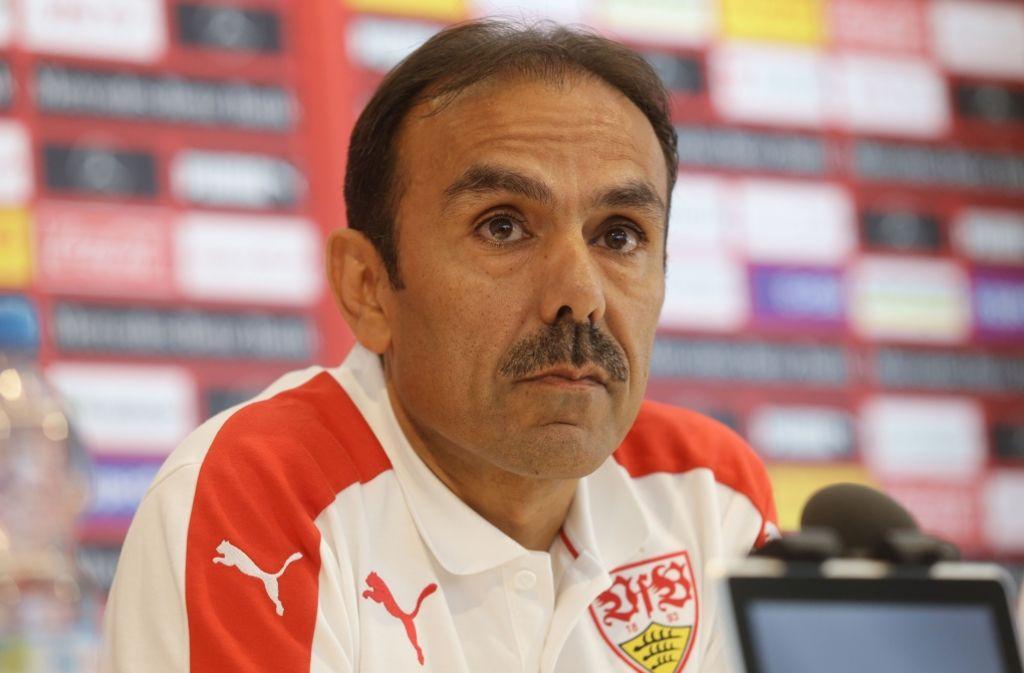 Sachlich geht Jos Luhukay seine neue Traineraufgabe in Stuttgart an. Foto: Pressefoto Baumann