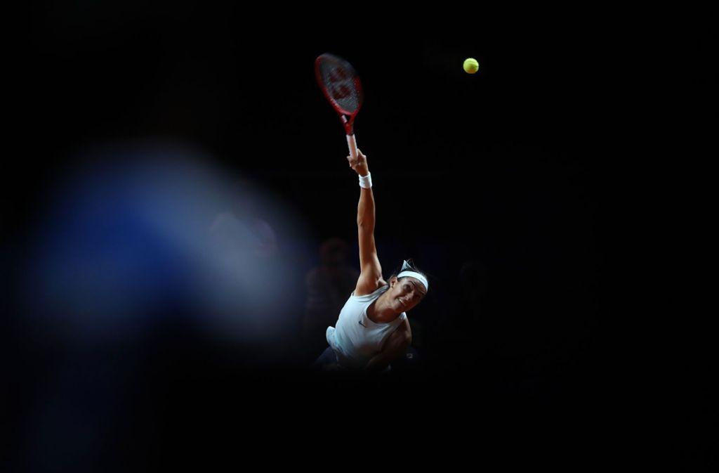 Kunst trifft Sport: Wir zeigen Ihnen die tollsten Bilder aus den ersten Stuttgarter Turniertagen. Foto: Getty