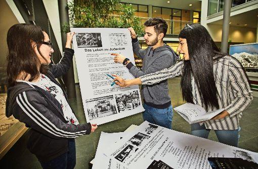 Jugendliche arbeiten gegen das Vergessen