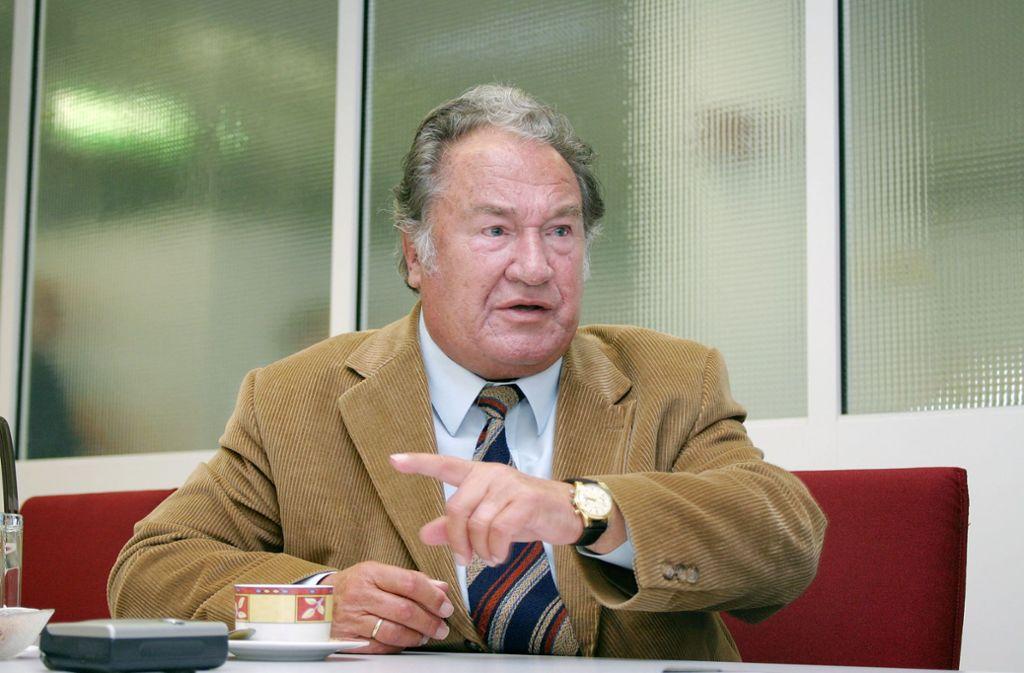 Johannes Kuhn ist im Alter von 95 Jahren gestorben. Foto: FACTUM-WEISE