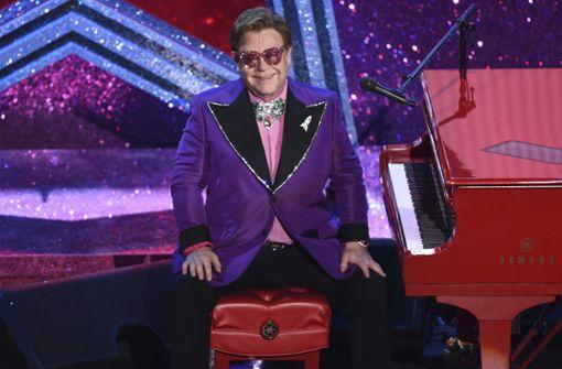 Elton John und viele andere sind aktiv