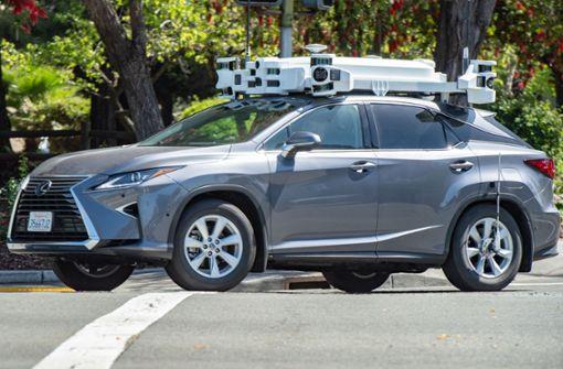 Apple schraubt Roboterwagen-Tests deutlich zurück