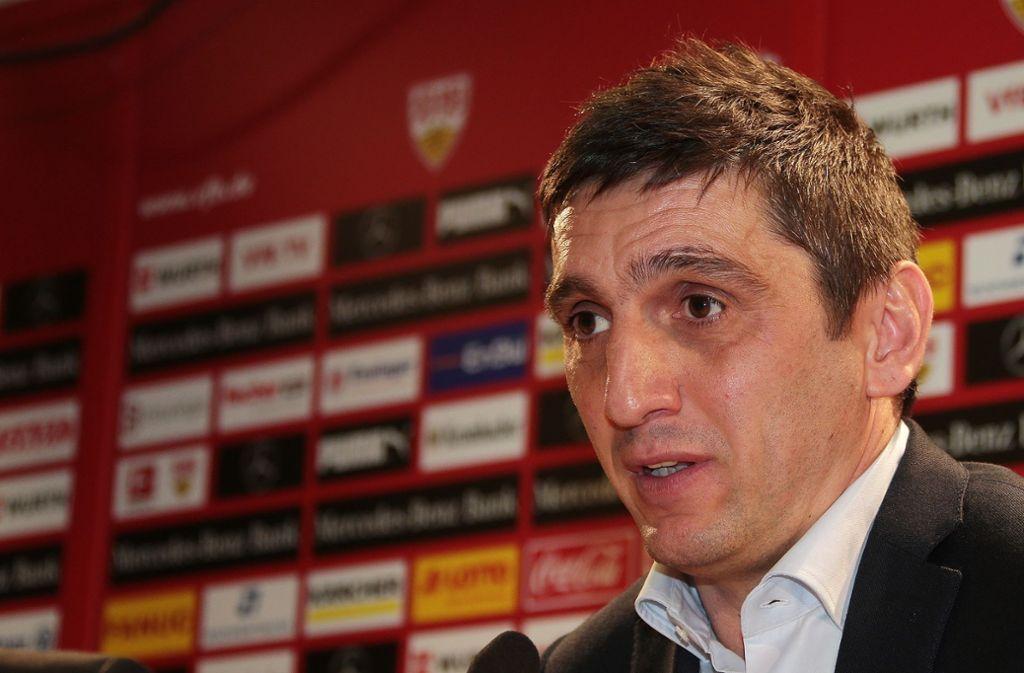 Ursprünglich Plan B, jetzt VfB-Cheftrainer: Tayfun Korkut Foto: Baumann