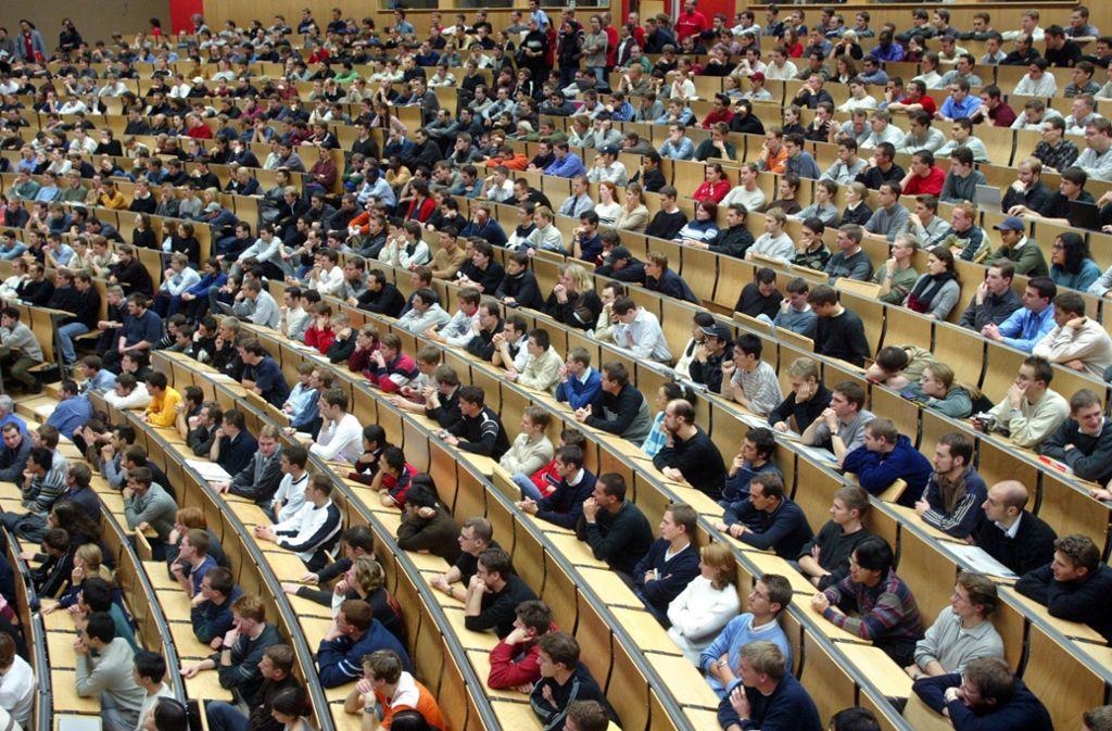 Auch die Karlsruher Uni wurde ausgezeichnet. Foto: dpa/dpaweb
