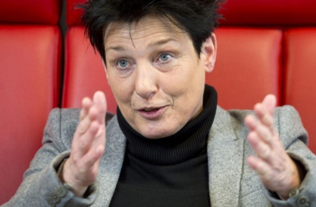 Katrin Altpeter ist die  erste Pflegefachkraft als Sozialministerin. Foto: dpa