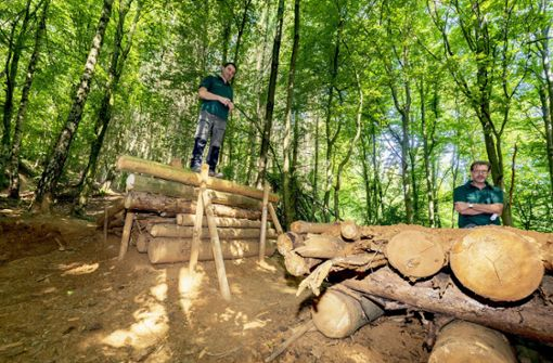 Illegale MTB-Strecke macht Probleme