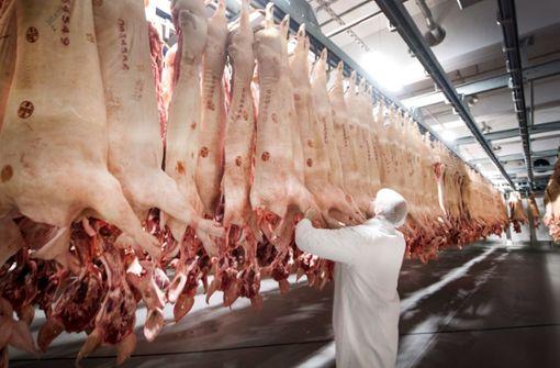 400 infizierte Mitarbeiter:Tönnies stoppt Schlachtbetrieb bei Gütersloh