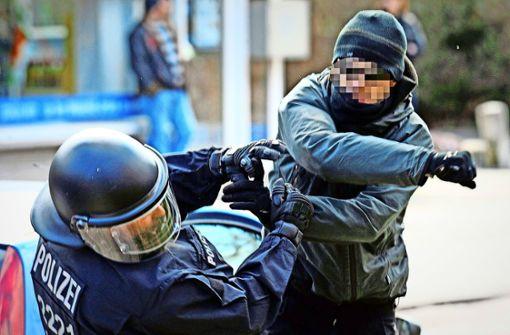 Gewalt gegen Polizisten nimmt seit Jahren zu