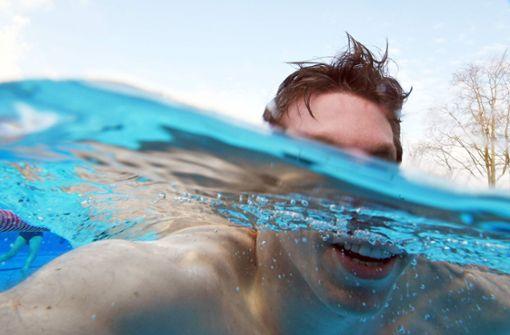 Diebe stehlen Swimmingpool aus einem Garten