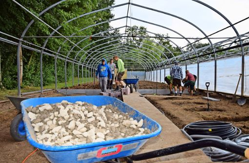 Schüler bauen ihre eigenen Klassenräume
