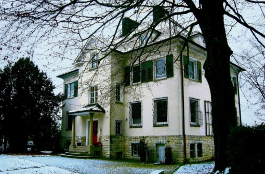 Die alte Magirusvilla in Ulm weicht Eigentumswohnungen. Foto: Rüdiger Bäßler