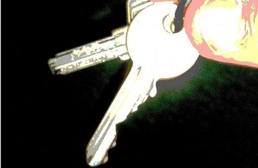 Die Schlüssel gibt es nur gegen Vorkasse