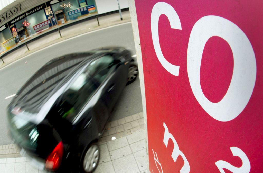 45 Prozent weniger CO2  bis 2030? Eine Entscheidung steht noch aus. Foto: dpa