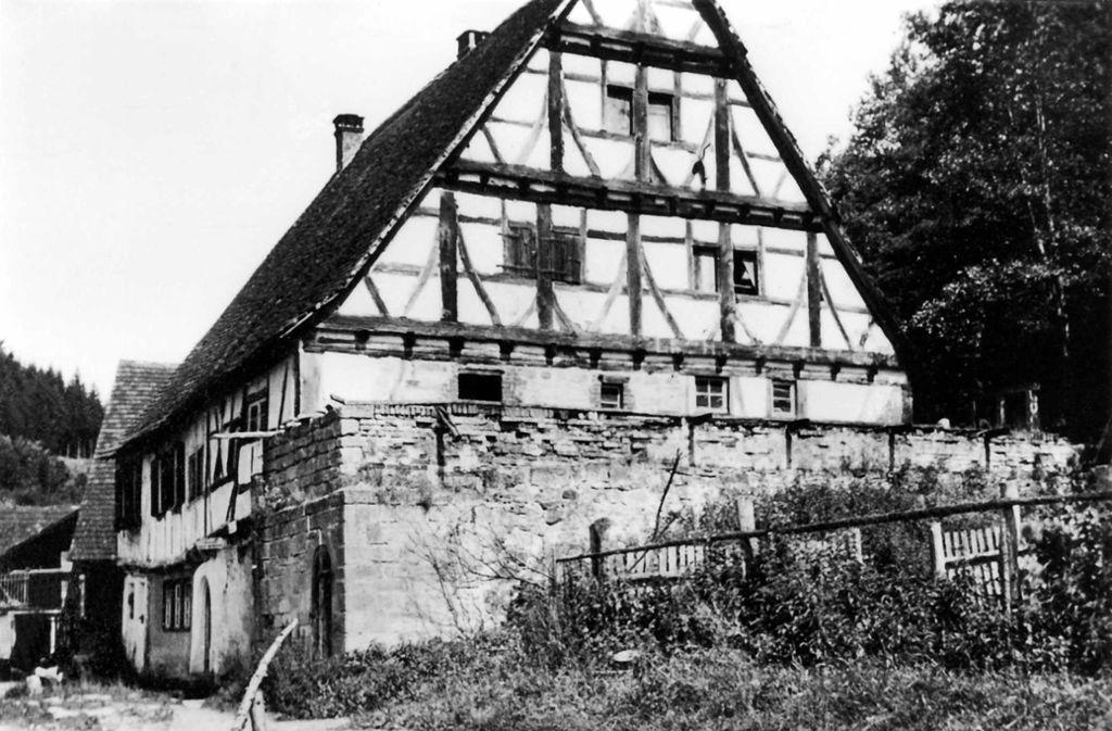 So sah die Kochenmühle vor hundert Jahren aus. Foto: Stadtarchiv Leinfelden-Echterdingen