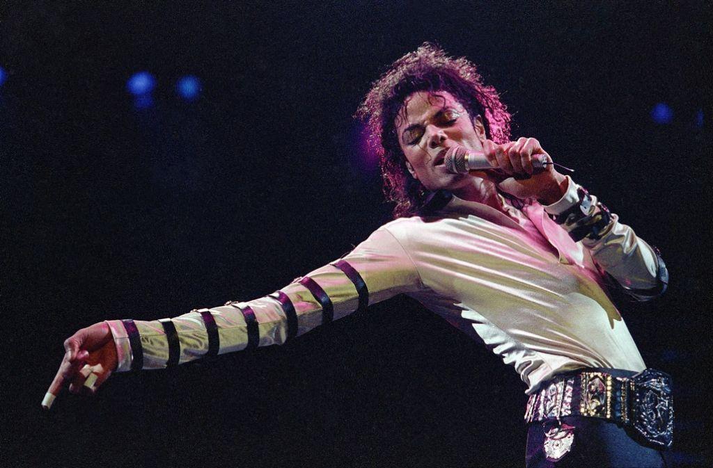 Michael Jackson 1988 Foto: AP