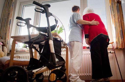 Impfängste  beim Personal in Stuttgarter Pflegeheimen