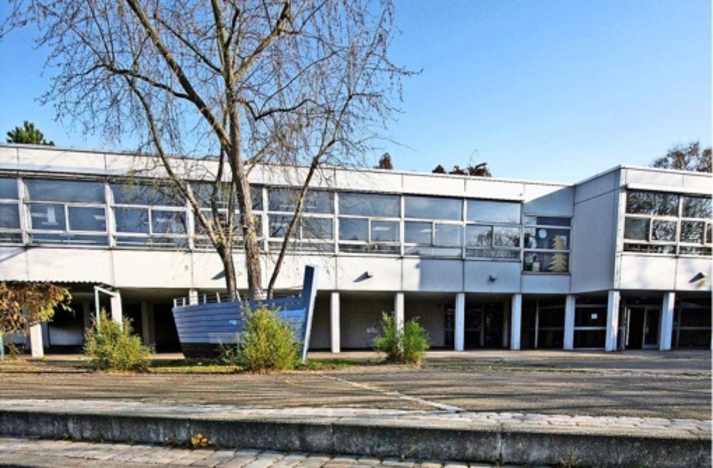 1966 wurde die von Günter Behnisch geplante Schule eingeweiht. Foto: factum/Archiv