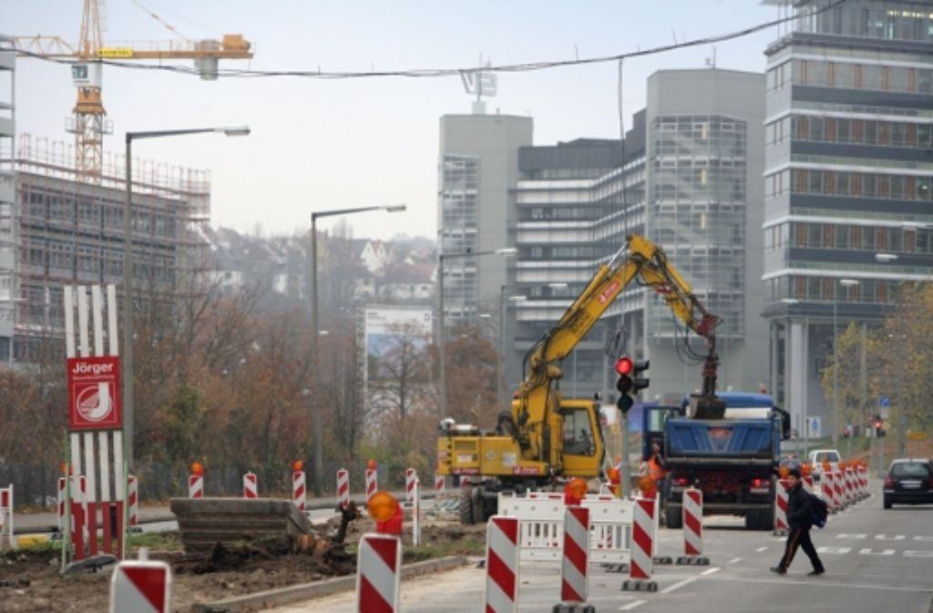 Die Baustelle hat vor kurzem Halbzeit gefeiert. Foto: Zweygarth