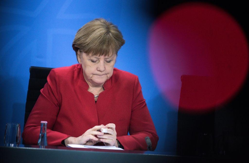Kanzlerin Angela Merkel hat Fehler in der Affäre Böhmermann eingeräumt. Foto: dpa