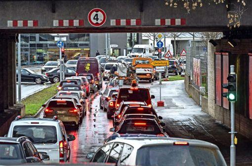 Verkehrsklumpen statt Kreisverkehr